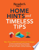 Home Hints And Timeless Tips Book
