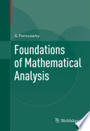 Foundations of Mathematical Analysis Book