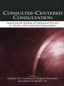 Consultee-Centered Consultation [Pdf/ePub] eBook
