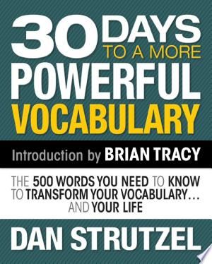 [FREE] Read 30 Days to a More Powerful Vocabulary Online PDF Books - Read Book Online