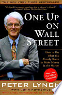 One Up On Wall Street Book