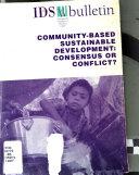 Community based Sustainable Development