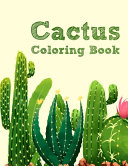 Cactus Coloring Book for Adults