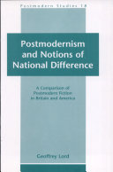 Postmodernism and Notions of National Difference