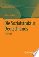 Die Sozialstruktur Deutschlands