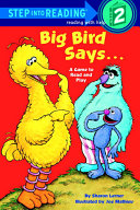 Big Bird Says... (Sesame Street)