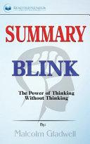 Blink Summary