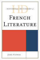 Historical Dictionary of French Literature Pdf/ePub eBook