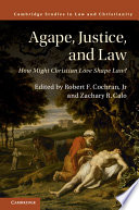 Agape  Justice  and Law