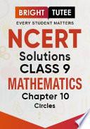 Ncert Solutions For Class 9 Mathematics Chapter 10 Circles