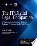 The IT digital Legal Companion Book