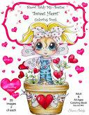 Sherri Baldy My Besties Sweet Heart Coloring Book