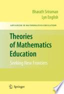 Theories of Mathematics Education