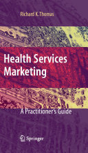 Pdf Health Services Marketing Telecharger