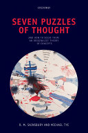 Pdf Seven Puzzles of Thought