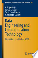 Data Engineering and Communication Technology Book