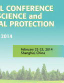 2014 International Conference on Social Science and and Environment Protection  SSEP2014