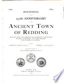 Proceedings of the 250th Anniversary of the Ancient Town of Redding  Once Including the Territory Now Comprising the Towns of Reading  Wakefield  and North Reading