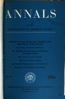 Annals of the Organization of American States