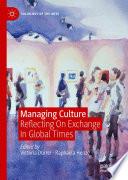 Managing Culture Book