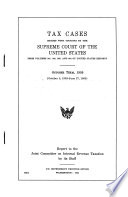 Tax Cases Decided with Opinions by the Supreme Court of the United States from Volumes 361  362  363  and 364 of United States Reports  October Term  1959  October 5  1959 June 27  1960