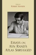 Pdf Essays on Ayn Rand's Atlas Shrugged Telecharger