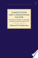 Competition Law S Innovation Factor