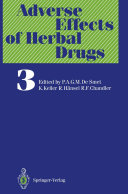 Pdf Adverse Effects of Herbal Drugs Telecharger