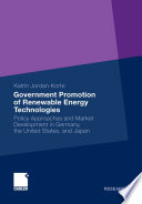 Government Promotion of Renewable Energy Technologies