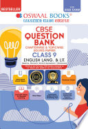 Oswaal Cbse Question Bank Class 9 English Language And Literature Book Chapterwise Topicwise Includes Objective Types Mcq S For 2022 Exam