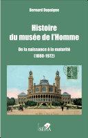 Histoire du musée de l'Homme Pdf/ePub eBook