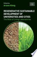 Regenerative Sustainable Development Of Universities And Cities Book PDF