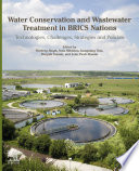 Water Conservation And Wastewater Treatment In Brics Nations Book PDF