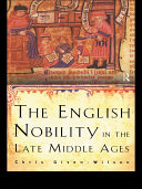The English Nobility in the Late Middle Ages ebook