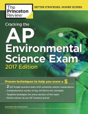 Cracking the AP Environmental Science Exam  2017 Edition Book