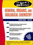 Schaum s Outline of Theory and Problems of General  Organic  and Biological Chemistry