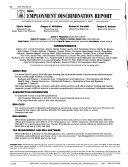 BNA's Employment Discrimination Report