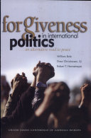 Forgiveness in International Politics Book