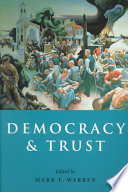 """Democracy and Trust"" by Russell Hardin, Mark E. Warren, Claus Offe"
