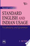 STANDARD ENGLISH AND INDIAN USAGE