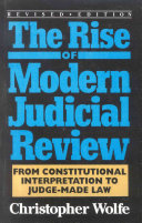 The Rise of Modern Judicial Review