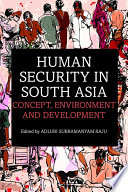 Human Security in South Asia Book