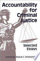 Accountability for Criminal Justice Book PDF