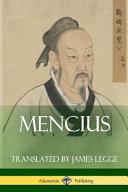 Mencius  Classics of Chinese Philosophy and Literature