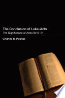 The Conclusion Of Luke Acts