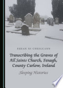 Transcribing the Graves of All Saints Church  Fenagh  County Carlow  Ireland