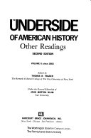 The Underside of American History  Since 1865 Book PDF