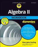 Algebra II Workbook For Dummies [Pdf/ePub] eBook