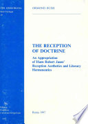 The Reception Of Doctrine