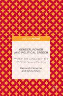 Gender  Power and Political Speech